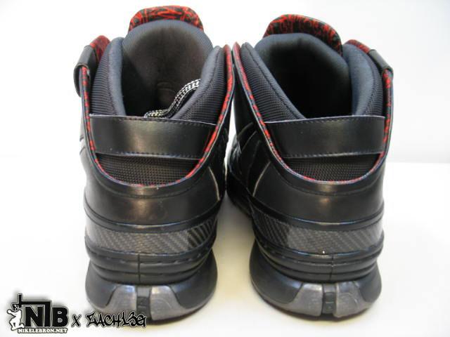 ... Nike Zoom LeBron VI Triple Black Wear Test Sample 8211 NO LOGO ... 0a7b2a206