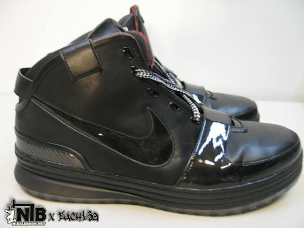 Nike Zoom LeBron VI Triple Black Wear Test Sample 8211 NO LOGO