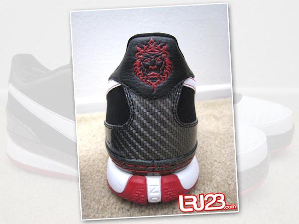 Nike Zoom LeBron VI Low BlackWhiteVarsity Red New Photos