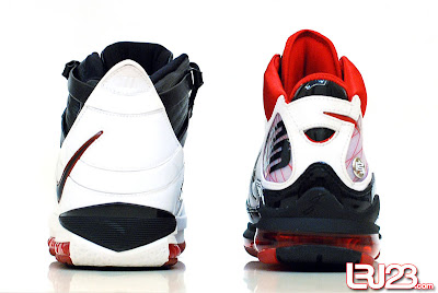 nike air max lebron 7 gr black red white 12 back3 1 2 3 4 5 6 7: Nike LeBron Series Round Up / Comparison