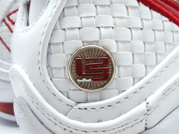 Second Look at the White  Varsity Red Nike Max LeBron VII 7 NFW