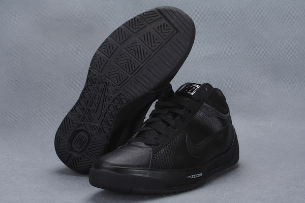 Detailed Look at the Black  Anthracite Zoom LBJ Ambassador II