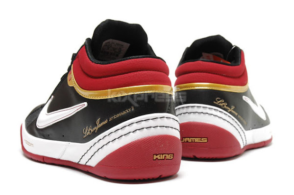A Detailed Look at the Ambassador II in Black Crimson and Gold