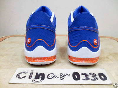 nike air max lebron 7 low gr white royal orange 1 07 Nike Air Max LeBron VII Low New York City Sample Colorway