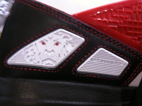 Nike Zoom LBJ Ambassador III 3 WhiteBlackRed amp WhiteRed