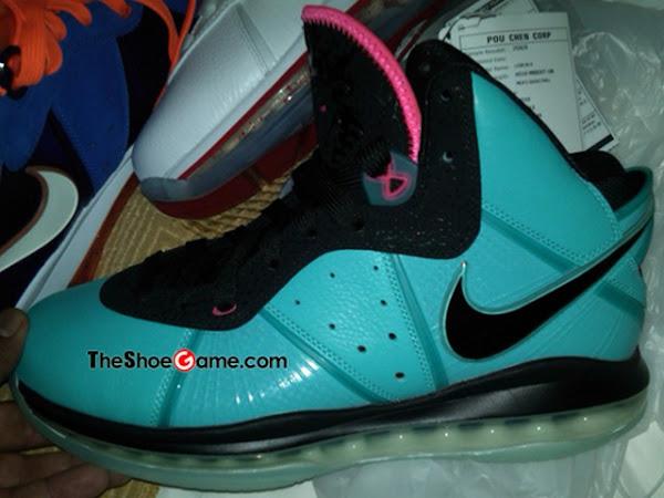 Nike LeBron VIII 8 8220PreHeat8221 Miami Vice Inspired 8211 New Images