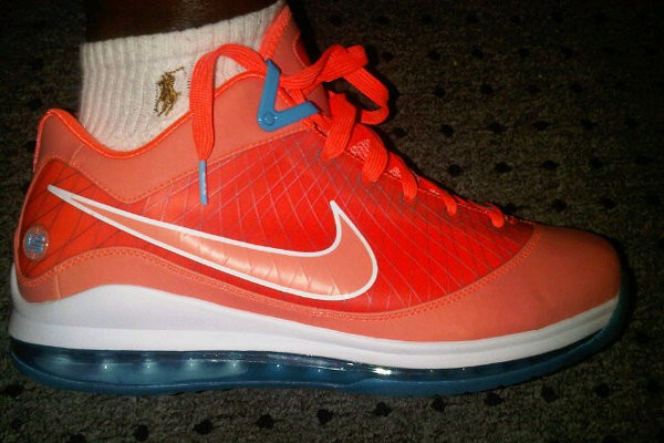 Nike Air Max LeBron VII Low 8220Summit Lake Hornets8221 PE New Pics