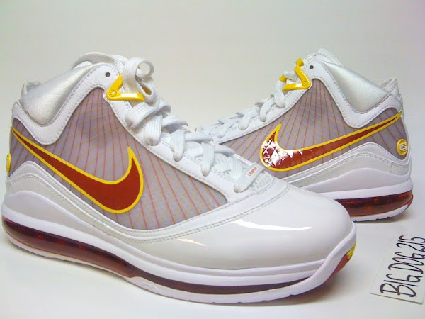 Nike Air Max LeBron VII 7 Fairfax Lions Home amp Away PEs