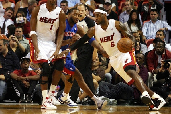 LeBron8217s Next Chapter Starts With Heat Win Wade gets Hurt