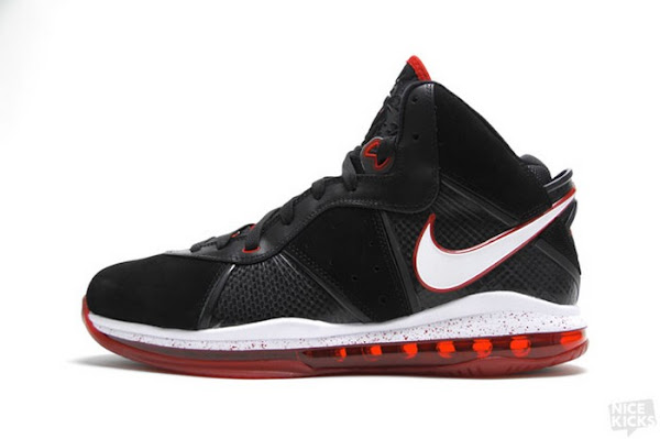 Release Reminder Nike LeBron 8 BlackWhiteRed 8211 Miami Heat