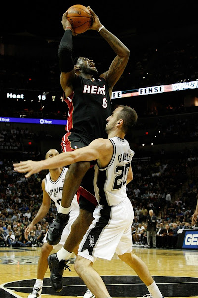Heat Beat OKC Lose First Game to Spurs LeBron8217s new Soldiers