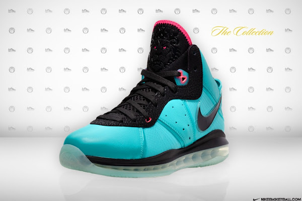 Nike LeBron 8 Miami South Beach Edition 8211 Release Information