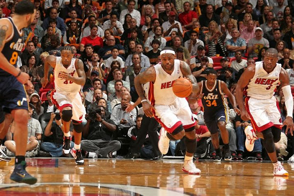 LeBron Scores 29th Career TripleDouble in a Loss Heat Fall to 53