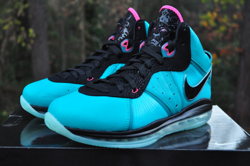 lebron 8 south beach. detailed look at preheatsouth beach nike air max lebron 8 lebron south