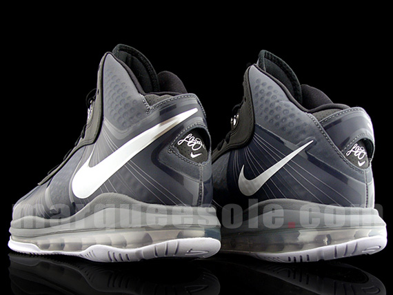 Nike LeBron 8 V2 8211 BlackGreyWhiteNeon 8211 Actual Photos