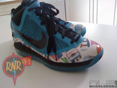 nike air max lebron 7 pe haiti allstar 1 04 Leaked: Nike Air Max LeBron VII (7) Kinbe Le Page Haiti PE