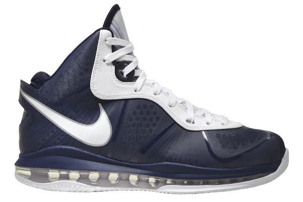 First Look Nike Air Max LeBron 8 V2 8211 Navy amp White