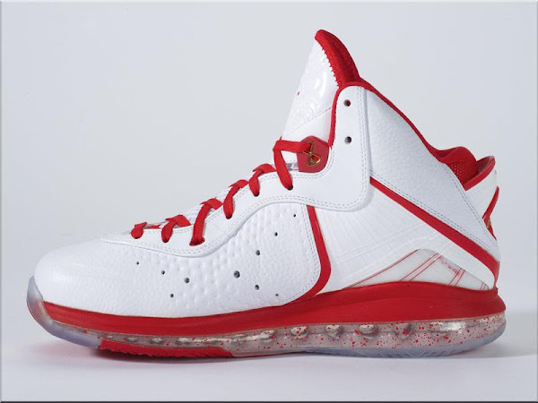 Actual Photos Featuring Nike LeBron 8 Miami Heat Home Edition