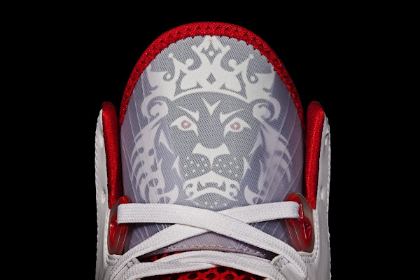 Nike Air Max LeBron 8 V2 WhiteBlackRed Official Unveiling