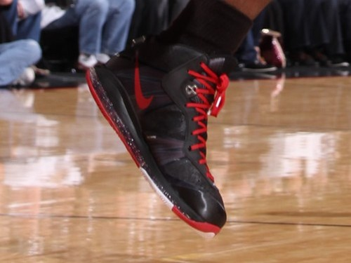Detailed Look at Nike LeBron 8 V2 Black amp Red Player Exclusive