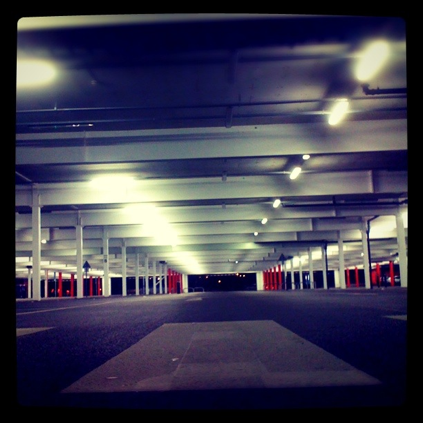 Carpark long shot