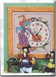 Ambientes en Punto de Cruz, Relojes 2 023