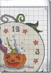Ambientes en Punto de Cruz, Relojes 2 054