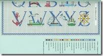 Abecedario marinero grafico 2