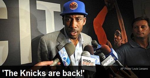 DPKnicks Are Back