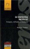Livre sur le marketing territorial