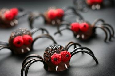 cake spider halloween