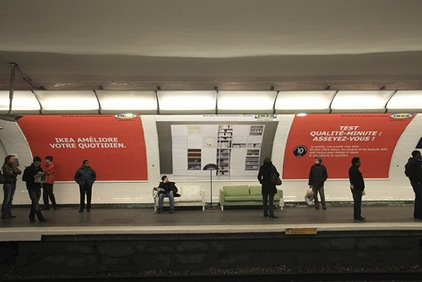 ikea metro paris
