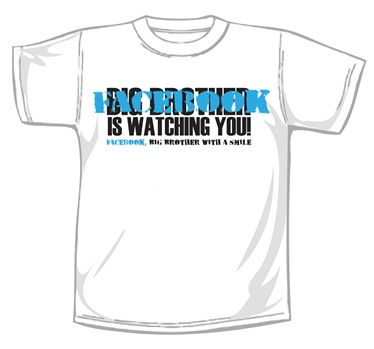 facebook- big brother tee short