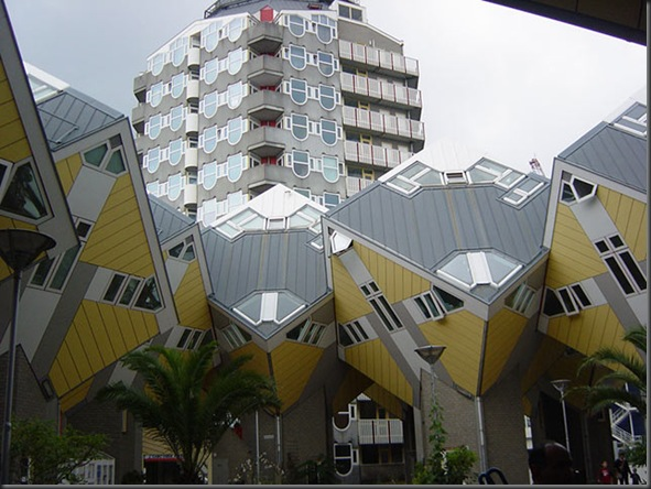 Cubic Houses ( Rotterdam , Netherlands)