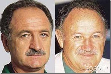 Felipão e Gene Hackman