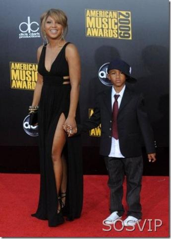 Toni Braxton e filho