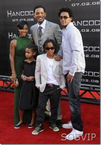 Will Smith e família