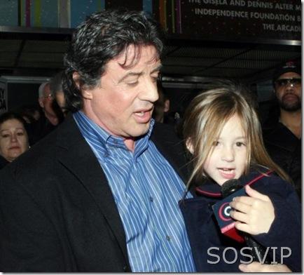 Sylvester Stallone & Rose