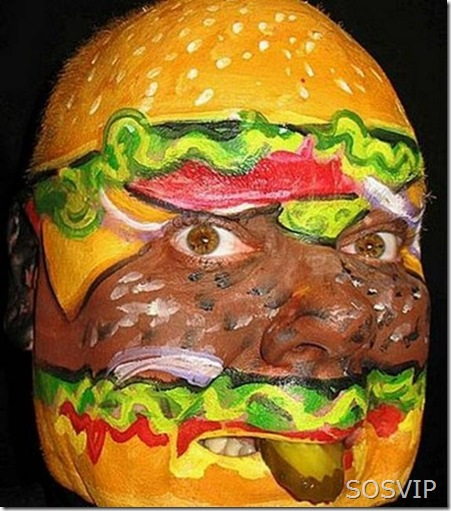 Bodypainting Pintura Facial