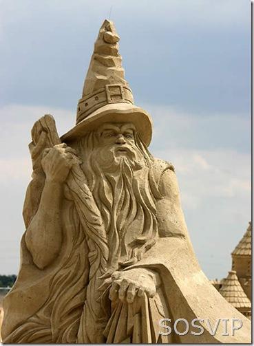 Esculturas de Areia (4)