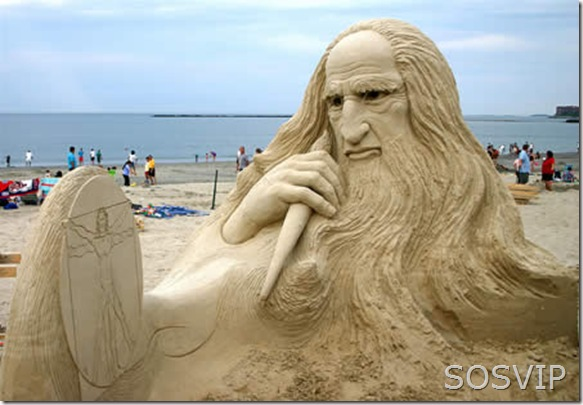 Esculturas de Areia (7)