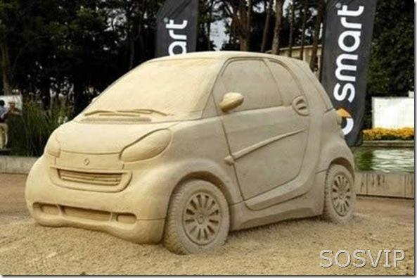 Esculturas de Areia (8)