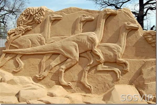 Esculturas de Areia (12)