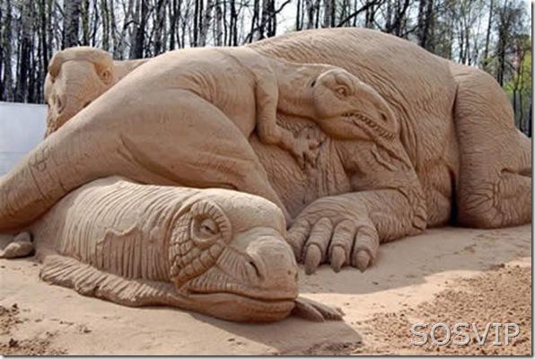 Esculturas de Areia (10)