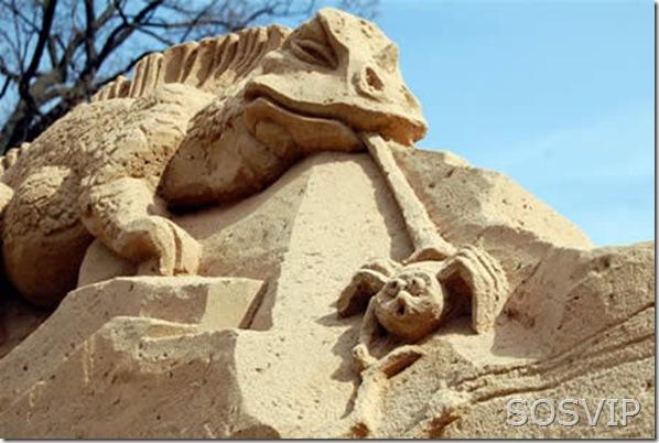 Esculturas de Areia (11)