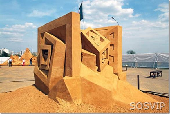Esculturas de Areia (17)