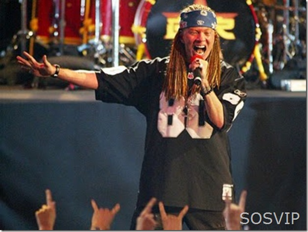 W. Axl Rose - William Bruce Rose, Jr.