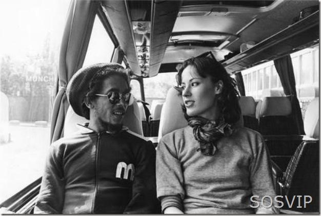 Bob Marley, and Kate Simon, 1977