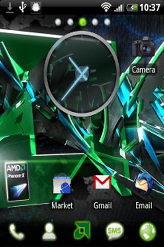 AMD Go Launcher EX Theme