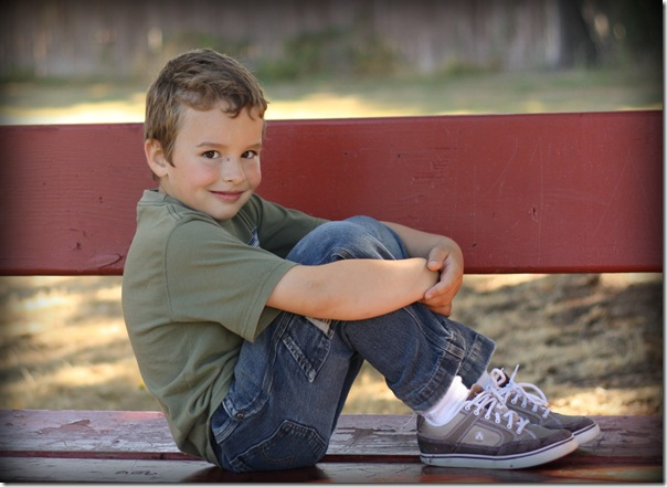 Jason on bench August 22 2010